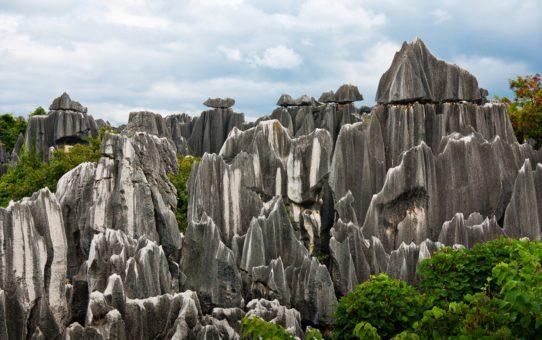 Шилинский каменный лес в Китае