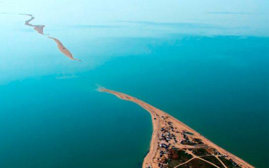 Должанская коса на Азовском море