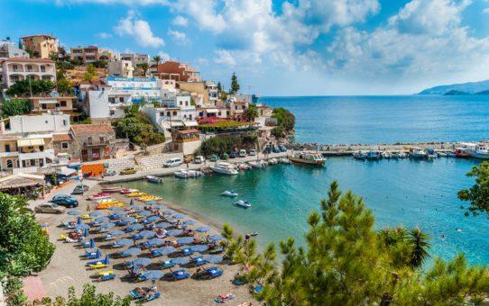 Критский пляжный сезон