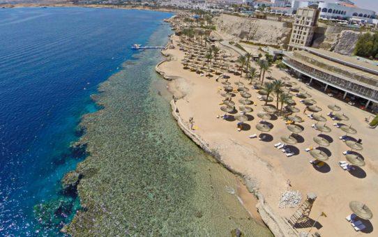Пляж Красного моря в Египте