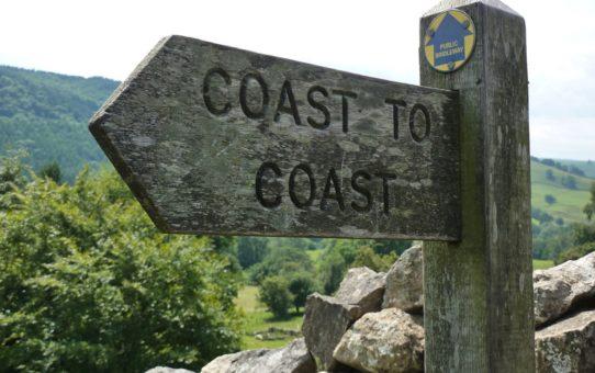 Прогулки от побережья до побережья в Великобритании
