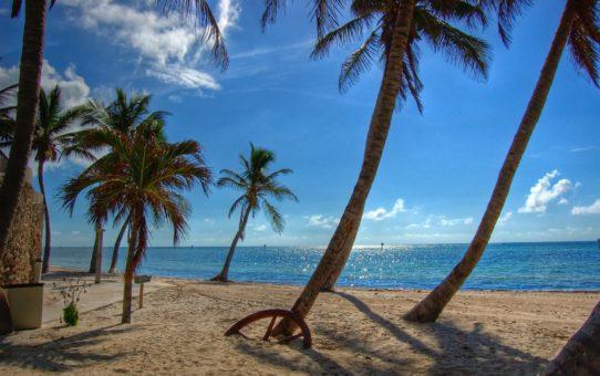 Пляжный сезон во Флориде, США