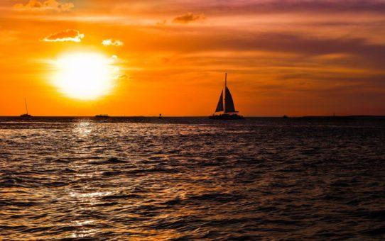 Потрясающий восход и закат во Флориде