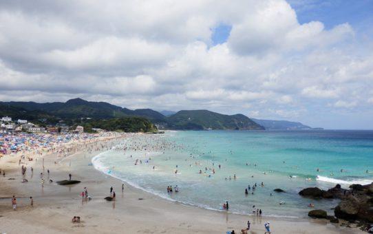 Пляжный сезон в Японии