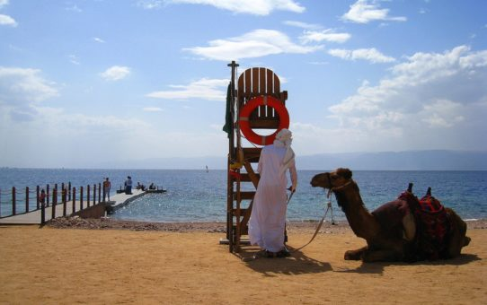 Пляжный сезон в Акабе, Иордания