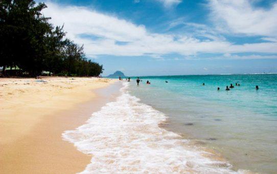 Пляжный сезон на Маврикии