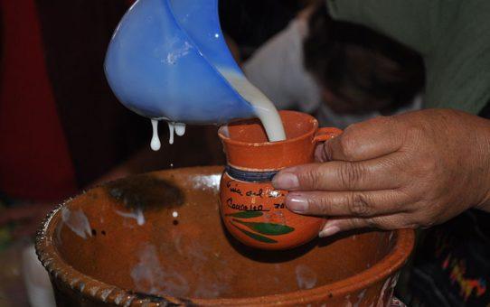 Традиционный мексиканский напиток атоле