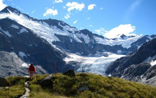 Каскадный Седловой маршрут в Новой Зеландии