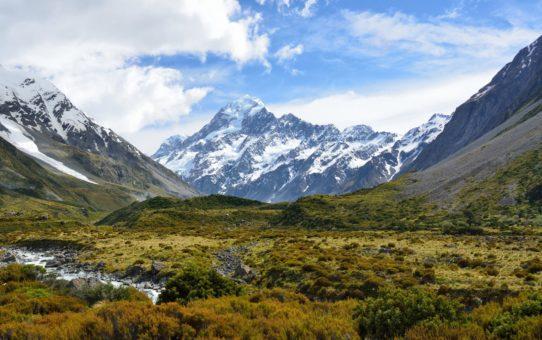 Восхождение на гору Кука, Новая Зеландия