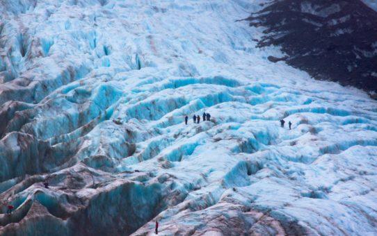 Поход по ледникам в Новой Зеландии