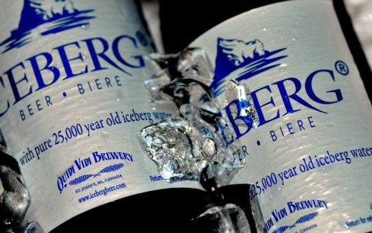 Канадское пиво Айсберг