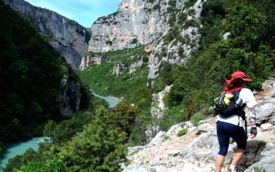 Поход в Ущелья дю Вердон в Провансе