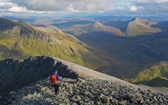Восхождение в горы Бен-Невис, Шотландия