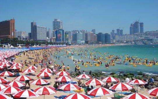 Пляжи Южной Кореи