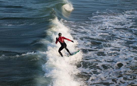 Сёрфинг в Калининграде, Балтийское море