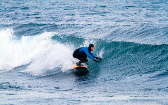 Сёрфинг в Мурманске, Северный Ледовитый океан