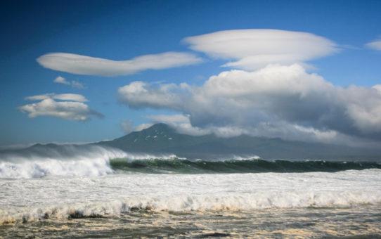 Сёрфинг на Курилах, Тихий океан