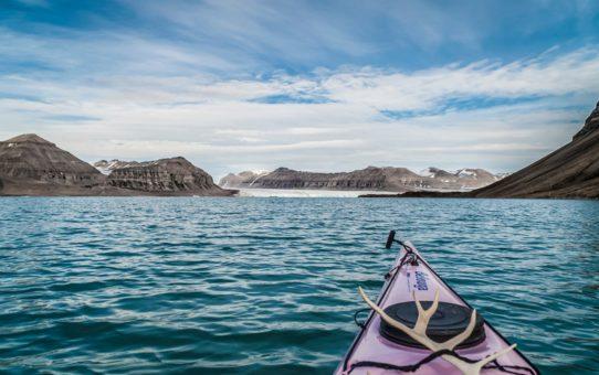 Каякинг по ледникам Шпицбергена