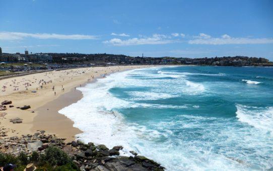 Пляжный сезон в Сиднее, Австралия