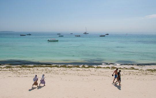 Пляжный сезон в Танзании