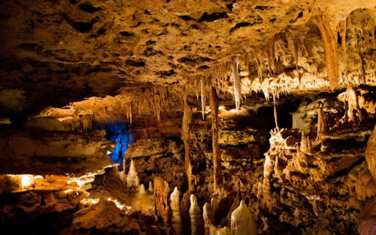Исследование пещер в Остине, Техас