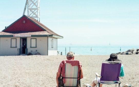 Пляжный сезон в Торонто, Канада