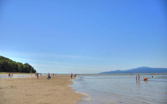 Пляжный сезон в Ванкувере, Канада